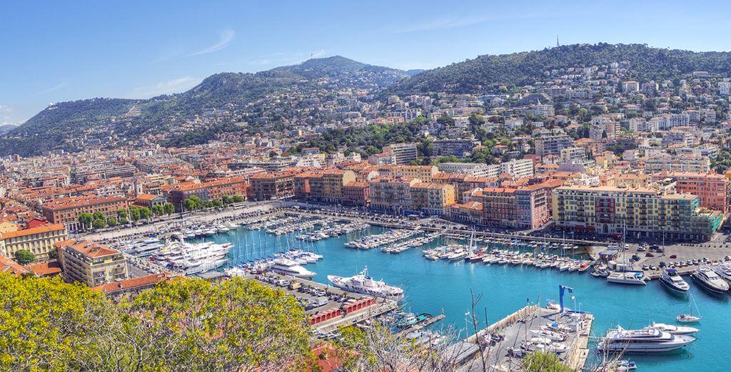 Sans oublier Marseille et son vieux port !