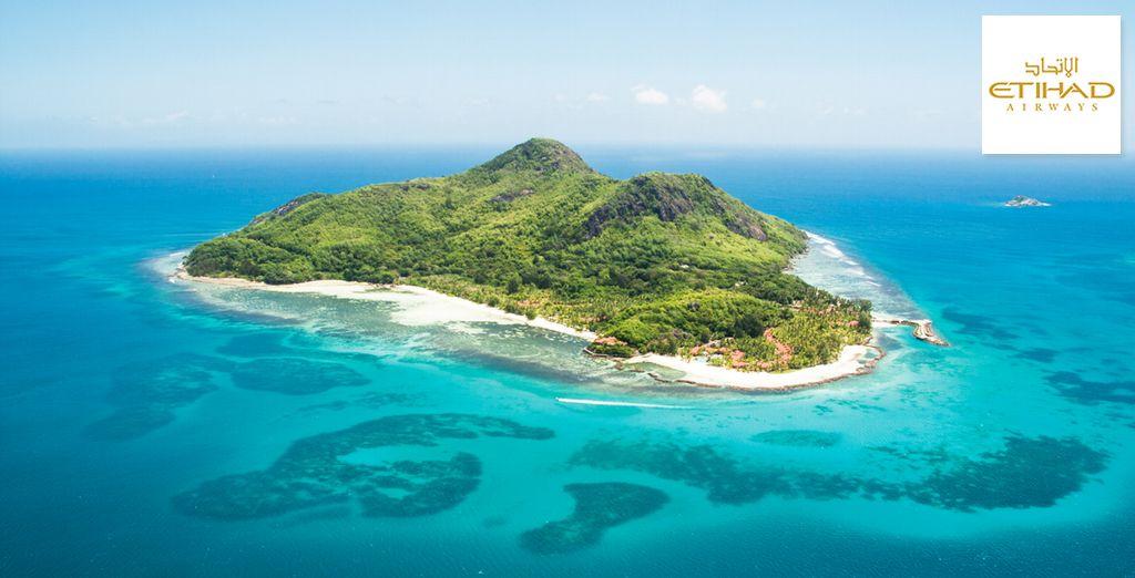 Bienvenue sur l'île privée de Sainte Anne