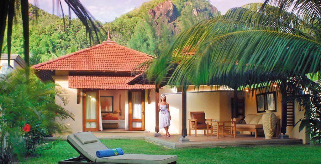 Nous vous installons en Tropical villa