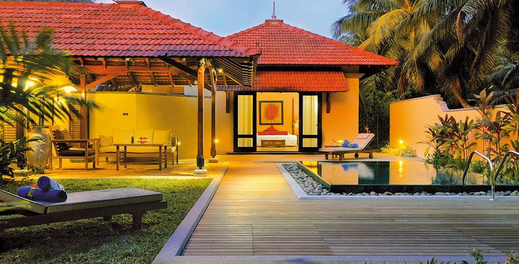 Offrant tous les avantages d'une résidence privée sous les tropiques