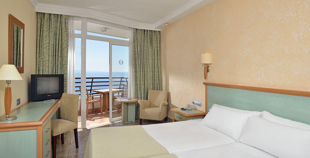 Où votre chambre vue mer fera de vos matins de merveilleux instants