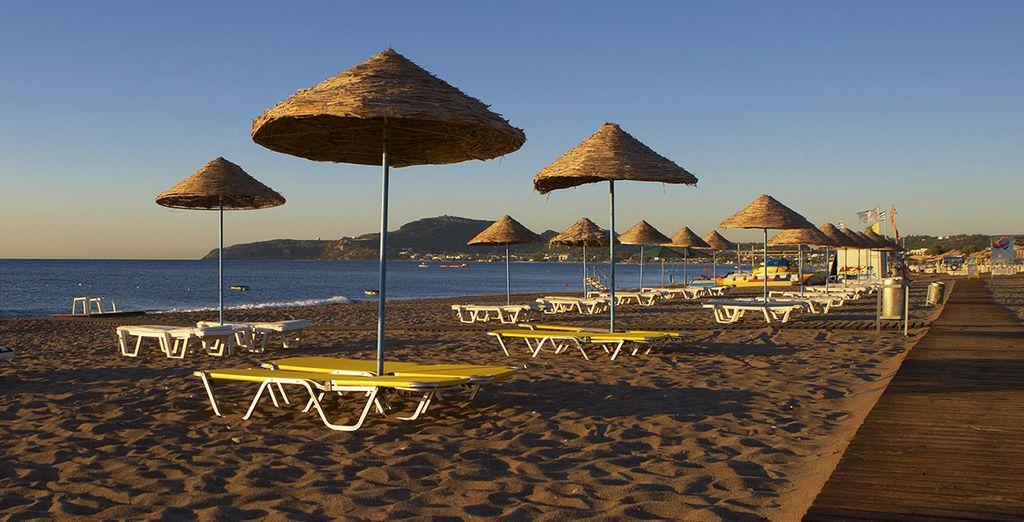 Puis partez vous allonger sur une chaise longue à la plage...