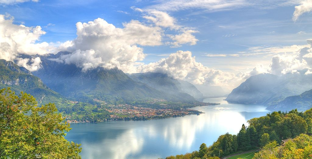 Découvrez la magie du lac de Côme...
