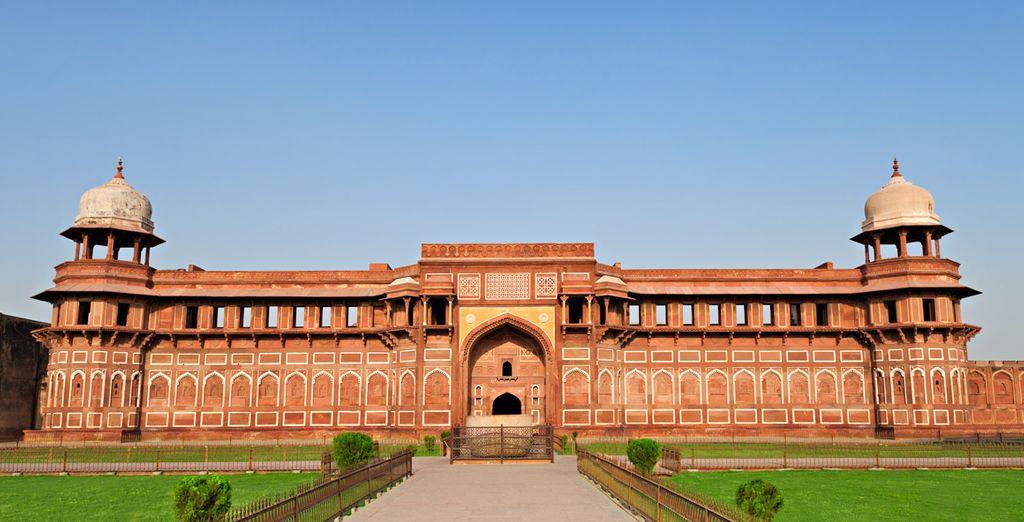 Tout comme le Fort Rouge d'Agra