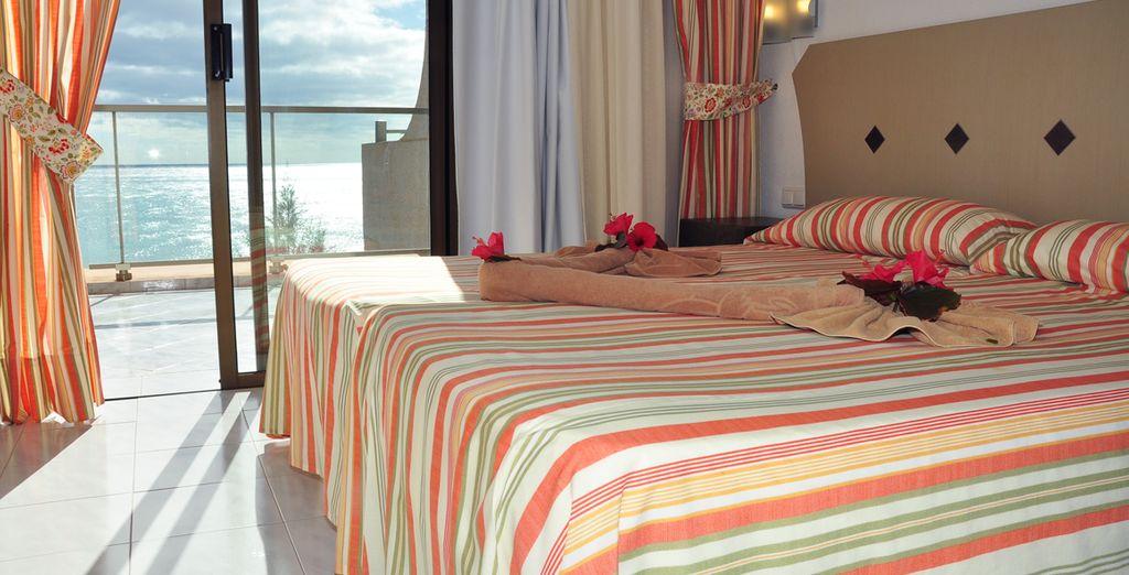 Des chambres cosy et bien équipées