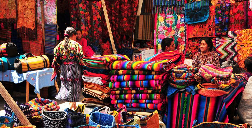 L'incontournable marché de Chichicastenango