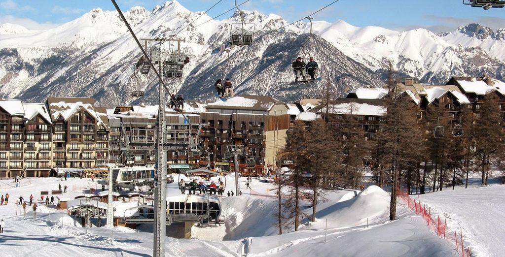 Cap sur l'un des plus grands domaines skiables reliés des Alpes du Sud !
