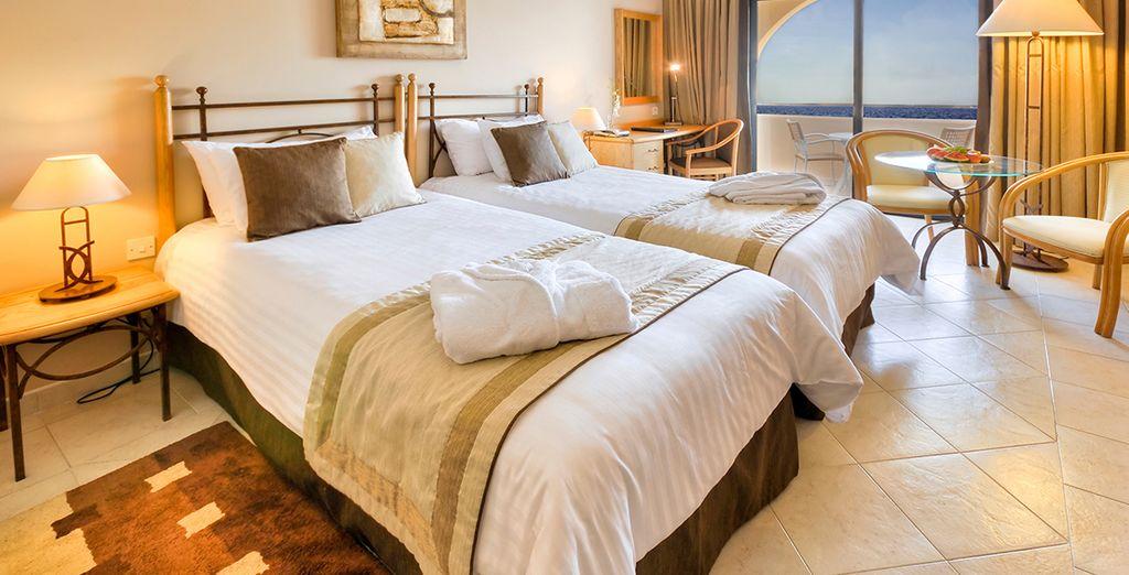Profitez du confort de votre chambre