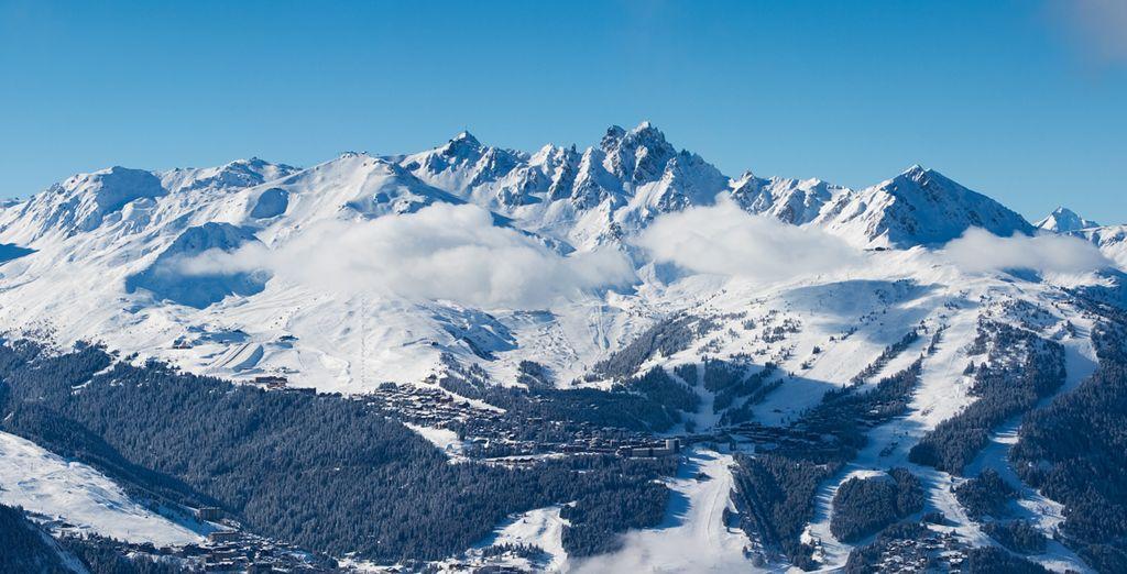 A vous la Savoie chic et authentique mais aussi le domaine incroyable des Trois Vallées !