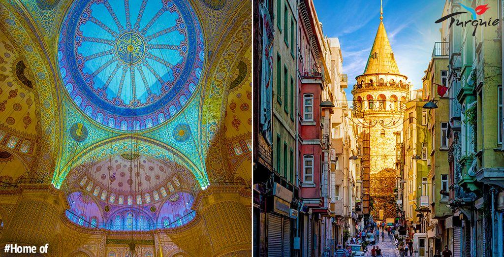 À vous les trésors d'Istanbul...