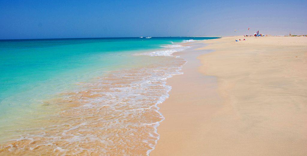Et de la plage idyllique, à quelques pas