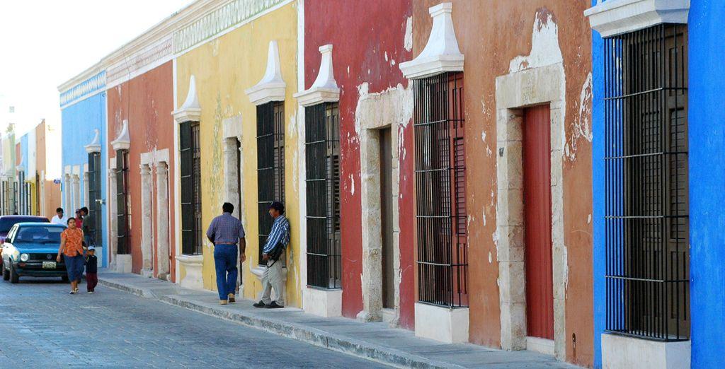 Vous parcourrez Oaxaca ou encore San Cristobal
