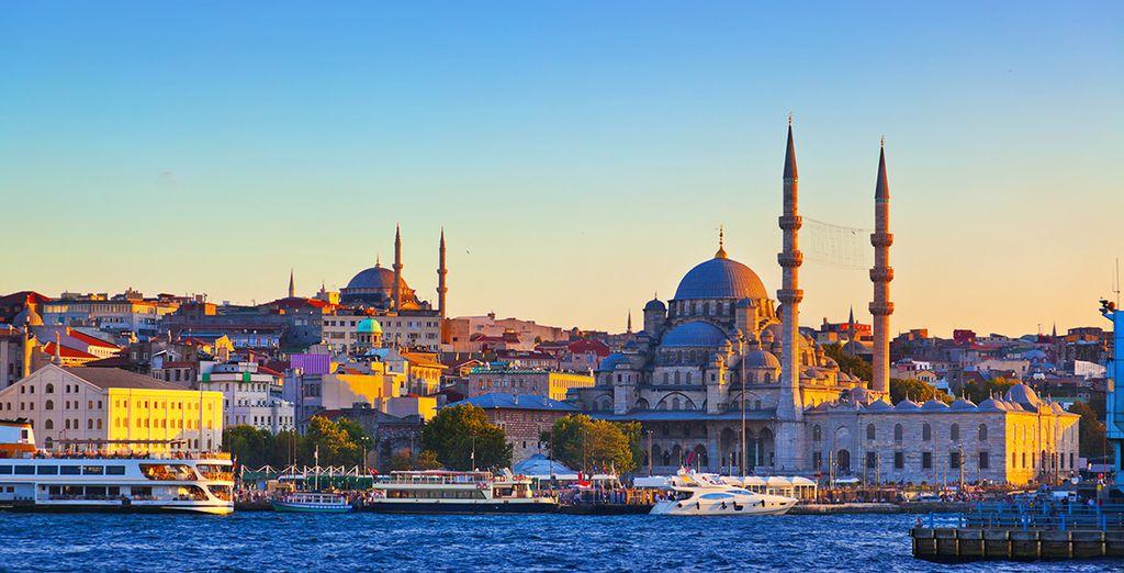 Admirez les merveilles d'Istanbul...