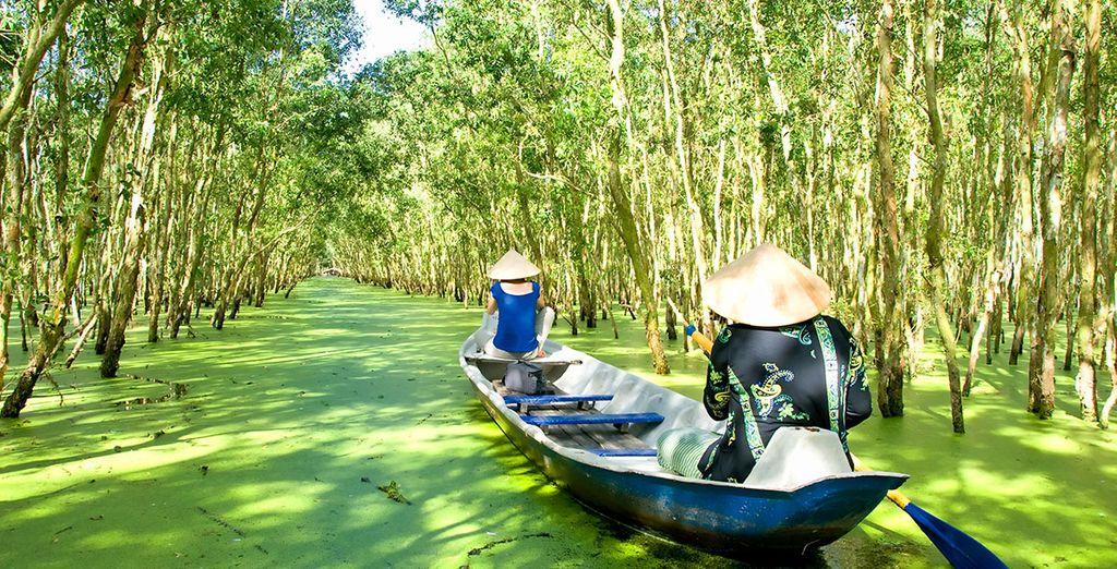 Voguez sur le delta du Mékong