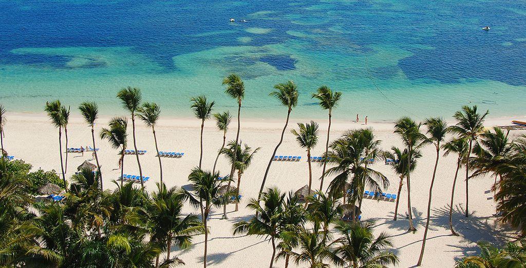 Puis prendre la direction de la plage idyllique...