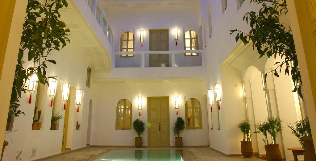 Bienvenue dans l'intimité de Marrakech
