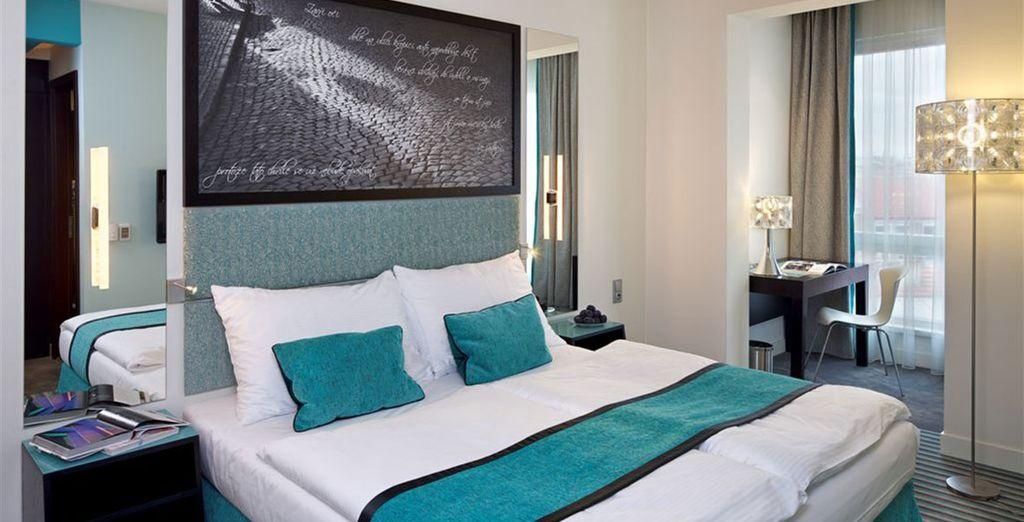 Profitez d'un surclassement en chambre Executive - Red & Blue Design Hotel 4* Prague