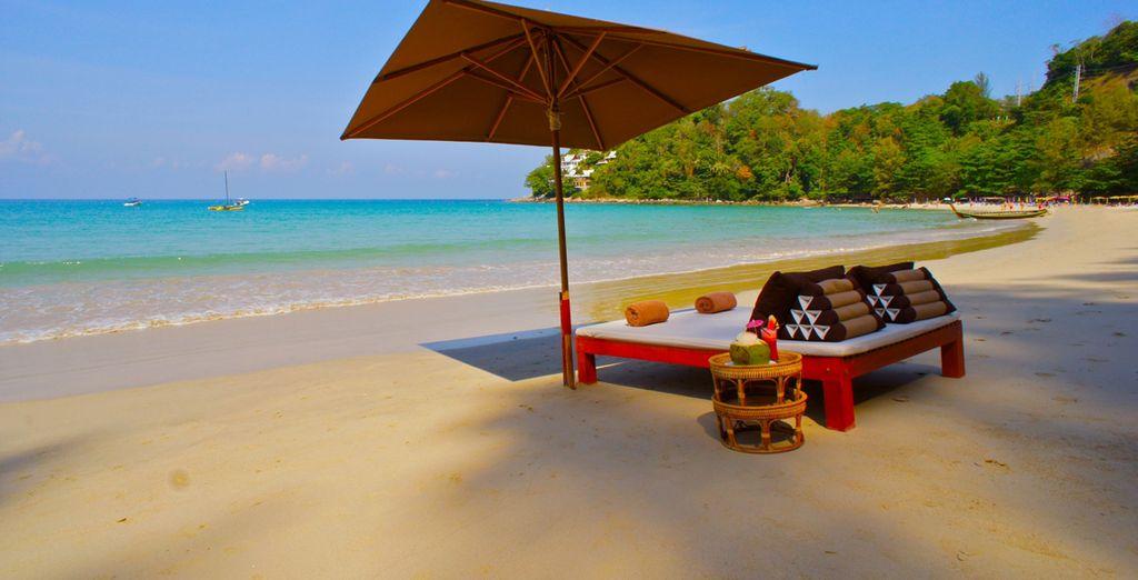 Accédez facilement à la plage de sable de Kamala