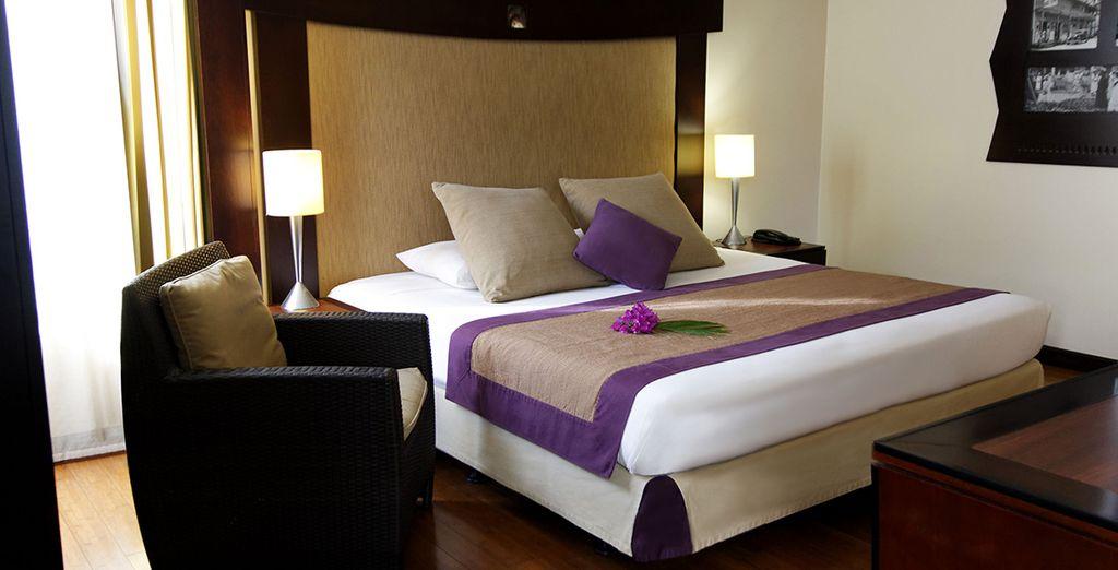 ... ou depuis votre chambre luxueuse et raffinée