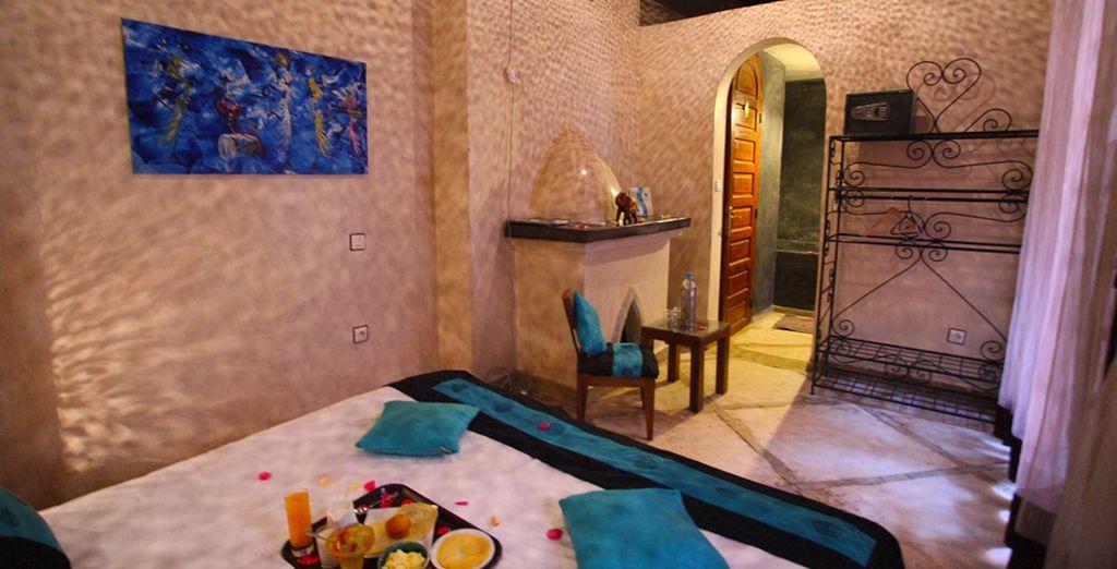 Appréciez l'hospitalité marocaine