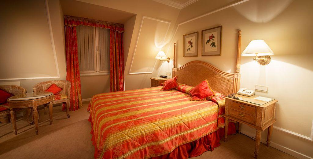 Confortablement installé dans votre chambre Superior