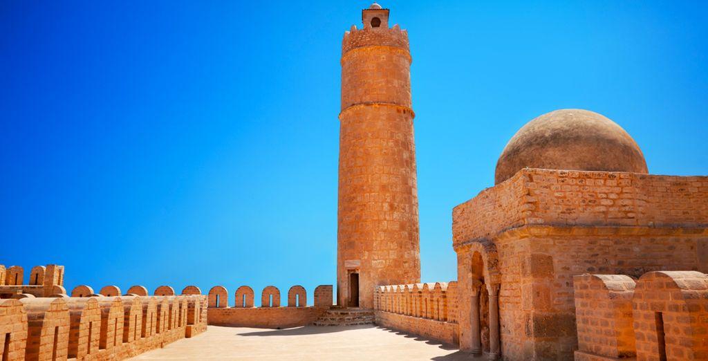 Avant de découvrir Port El Kantaoui mais aussi Sousse...