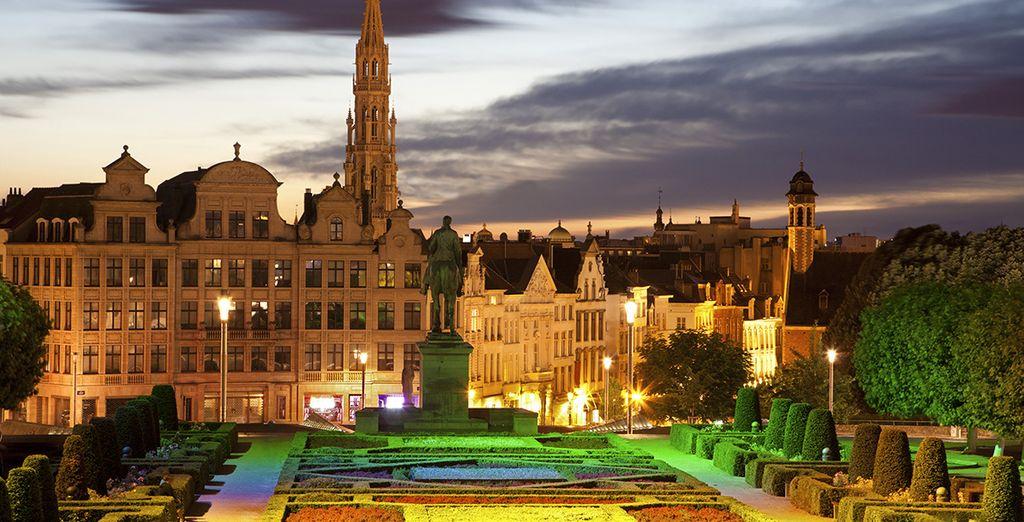 Direction Bruxelles pour une virée haute en émotions...