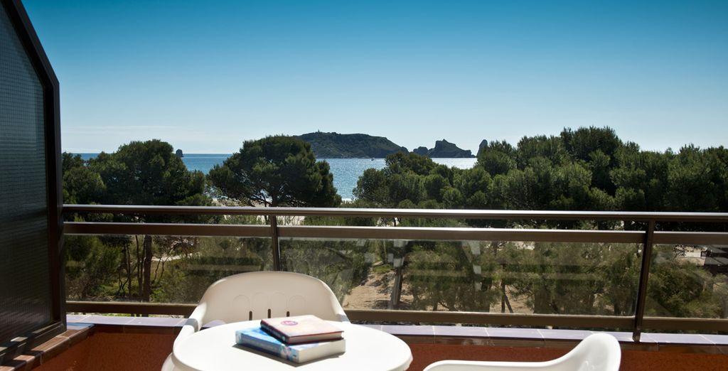 Prenez le temps de petit-déjeuner en terrasse