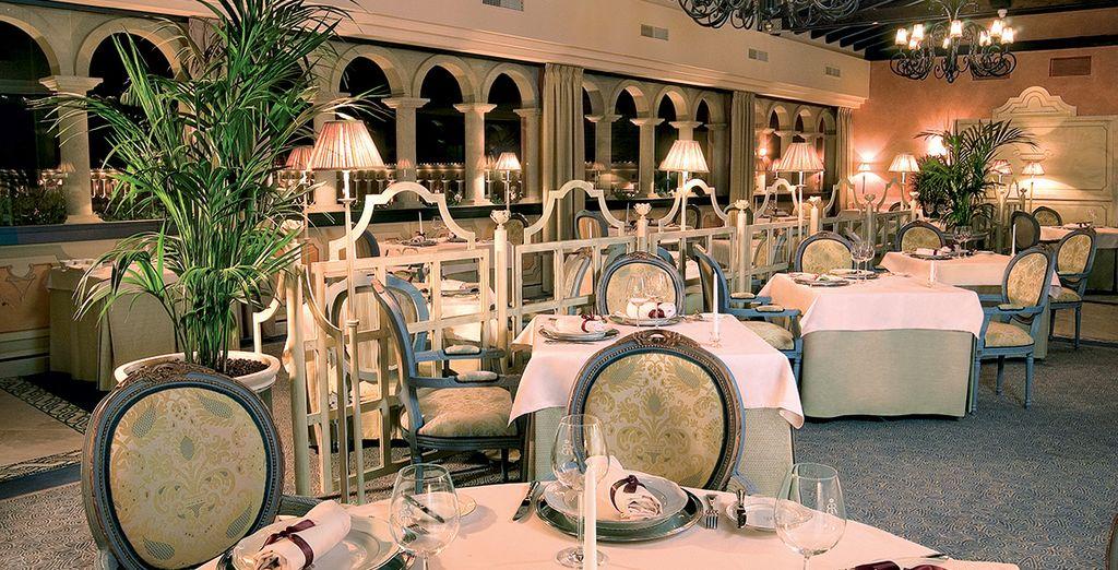 Ou l'élégance du restaurant La Cupula