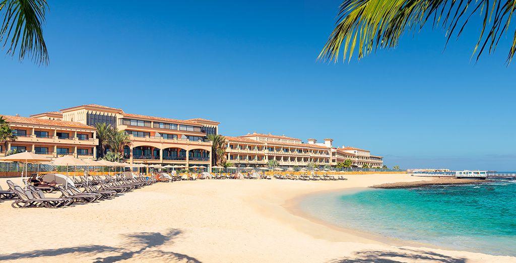 Sur la plage de Fuerteventura