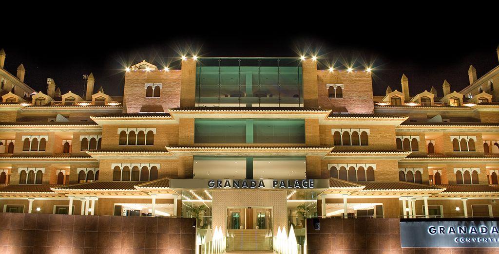 Le Granada Palace 4* vous ouvre les portes - Hôtel Granada Palace 4* Granada