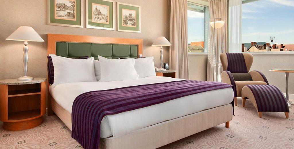 Le temps d'un séjour luxueux unique dans votre hôtel mystère