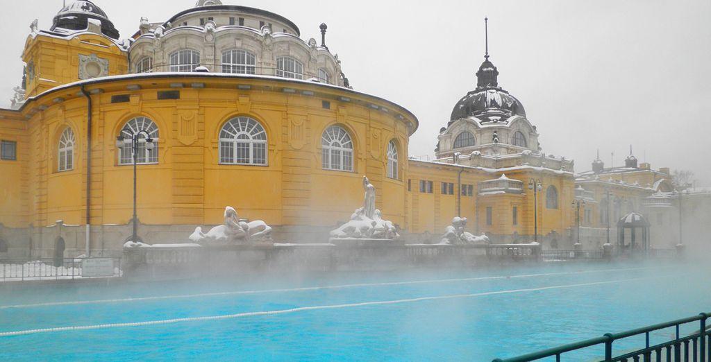 Avant de partir n'oubliez pas de vous baigner dans le plus grand centre thermal d'Europe