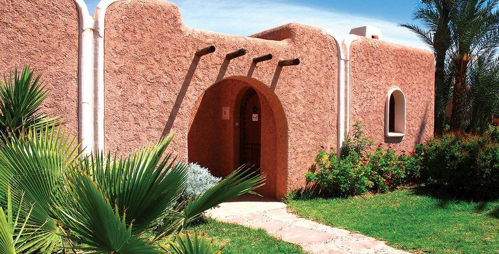 Admirez son architecture typique...