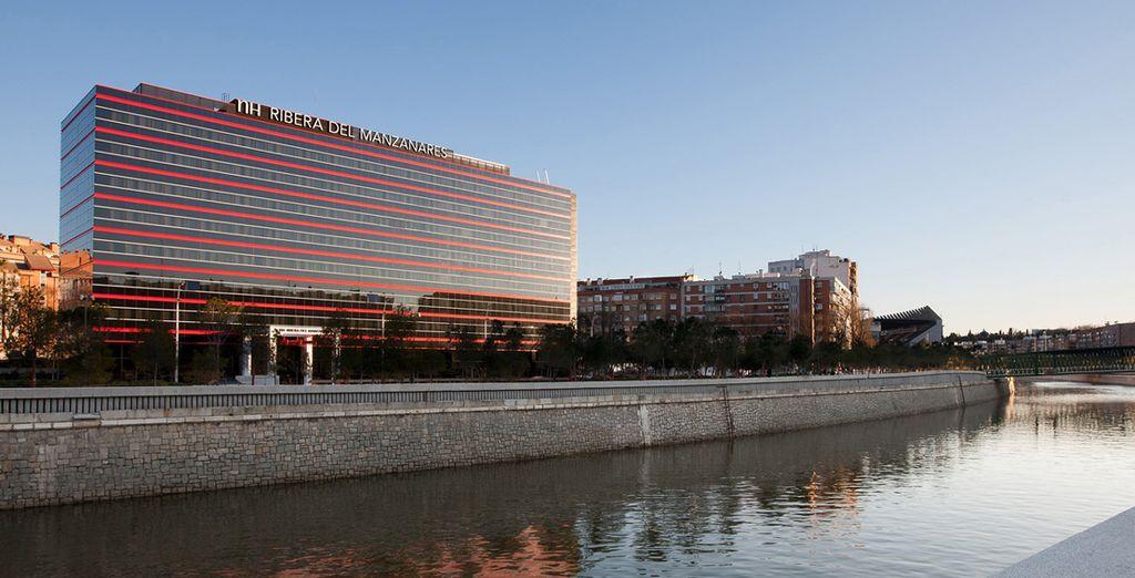 Dans un hôtel design - NH Ribera del Manzanares 4* Madrid