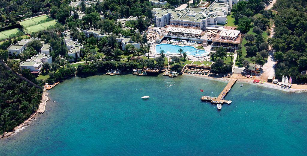 Bienvenue sur la Riviera turque ! - Hôtel Isil Club Bodrum 5* Bodrum