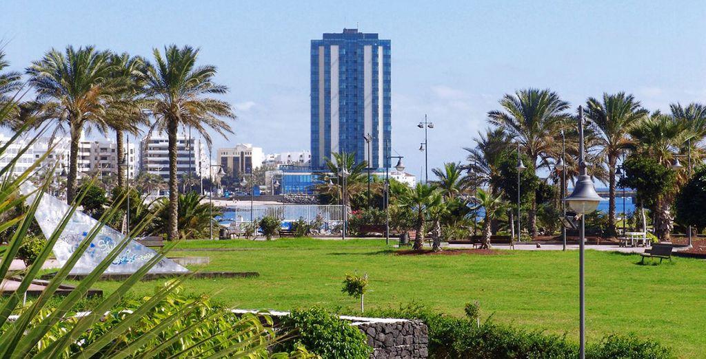 Le Gran Arrecife Hotel vous attend sous le soleil des Canaries