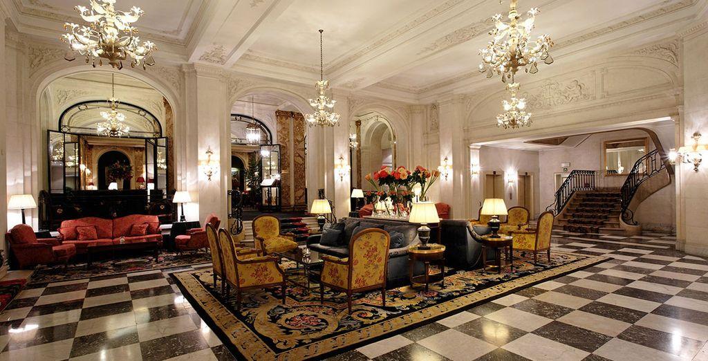 Bienvenue au sein du prestigieux hôtel Plaza Brussels