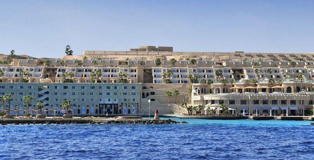 Au Citadel Azur - Hôtel Citadel Azur 5* ou Combiné Croisière Passion du Nil & Hôtel Citadel Azur 5* Hurghada