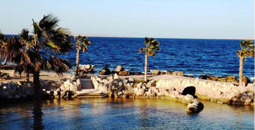Appréciez le doux soleil d'Égypte