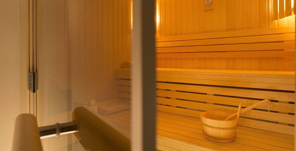 Ou évacuer votre stress par quelques séances au sauna...