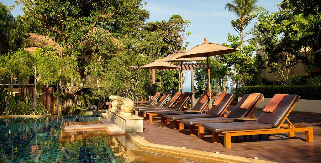 Le sublime hôtel Crown Lanta Resort & Spa vous ouvre ses portes