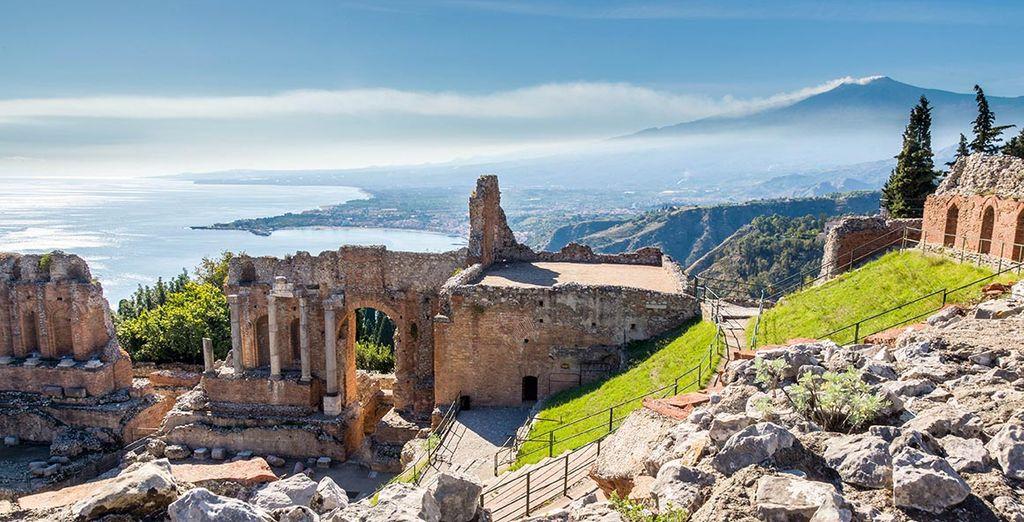 Site archéologique en Sicile, Taormina