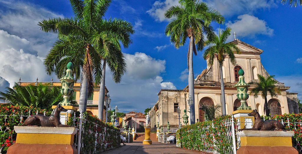 Panorama sur La Havane à Cuba