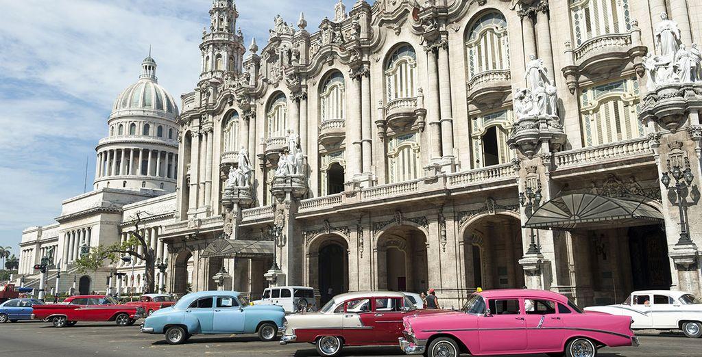 Monument historique à la Havane