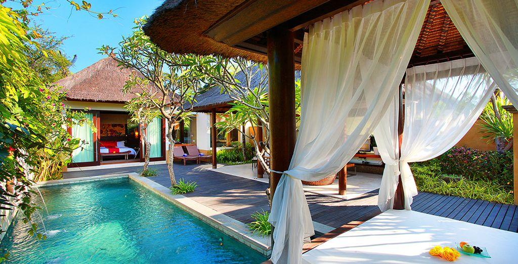 Un séjour d'exception en villa avec piscine privée