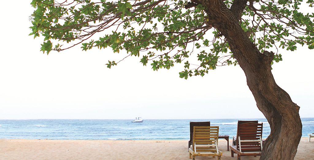 La plage de Nusa Dua à deux pas