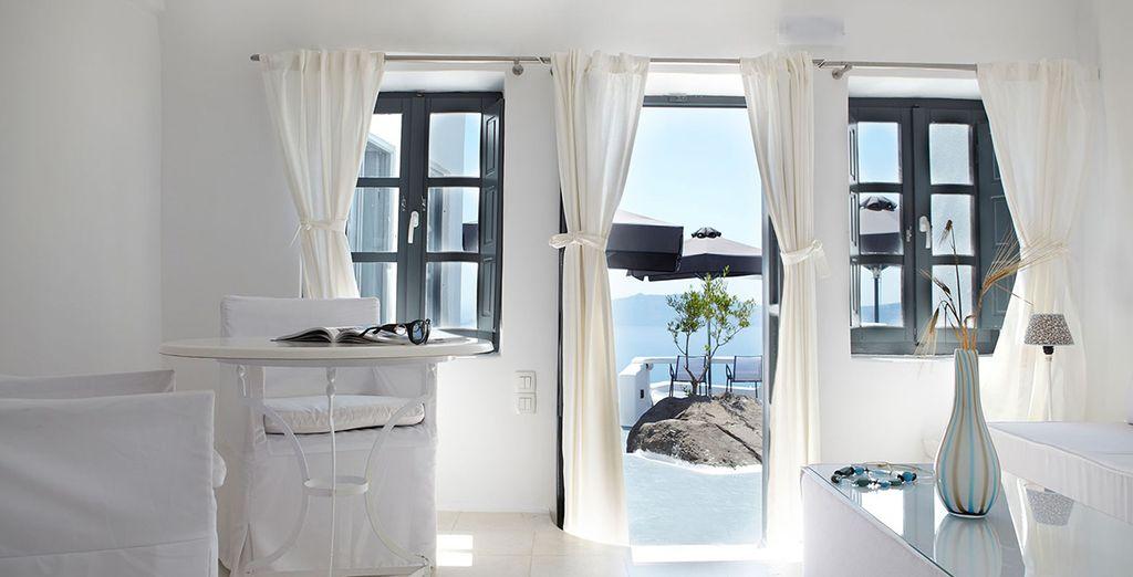ou de votre Superior Jacuzzi suite Sea View