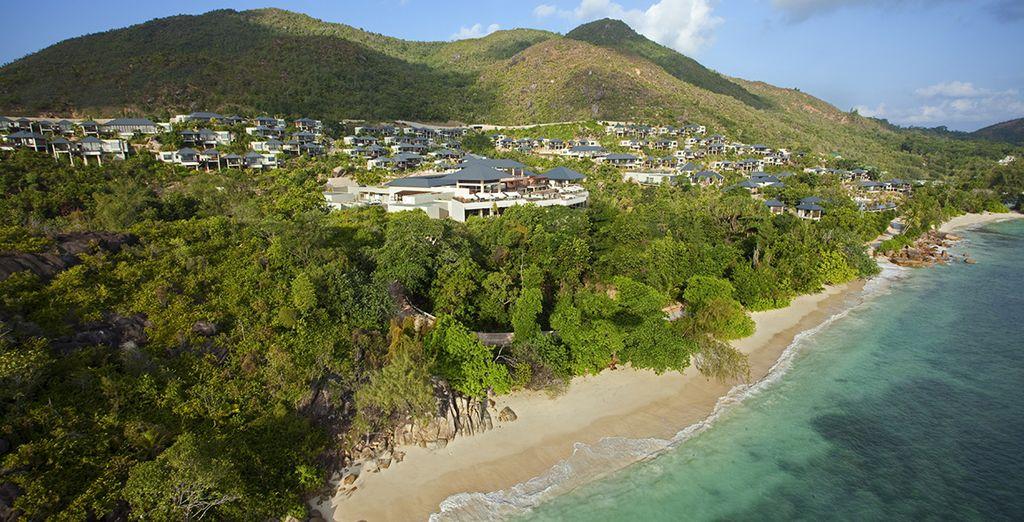 Photographie des Seychelles et du Jardin d'Eden originel sur l'île de Praslin