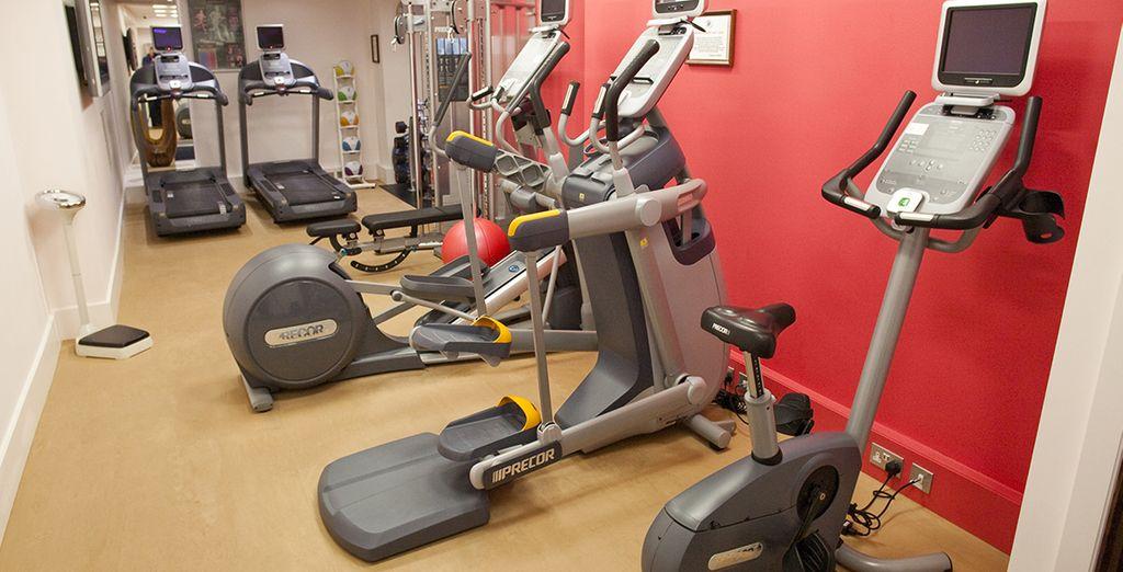 Après votre journée londonienne, vous pourrez faire de l'exercice dans la salle de sport